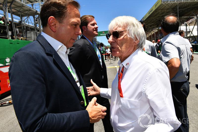 Bernie Ecclestone, Joao Doria, alcalde de Sao Paulo