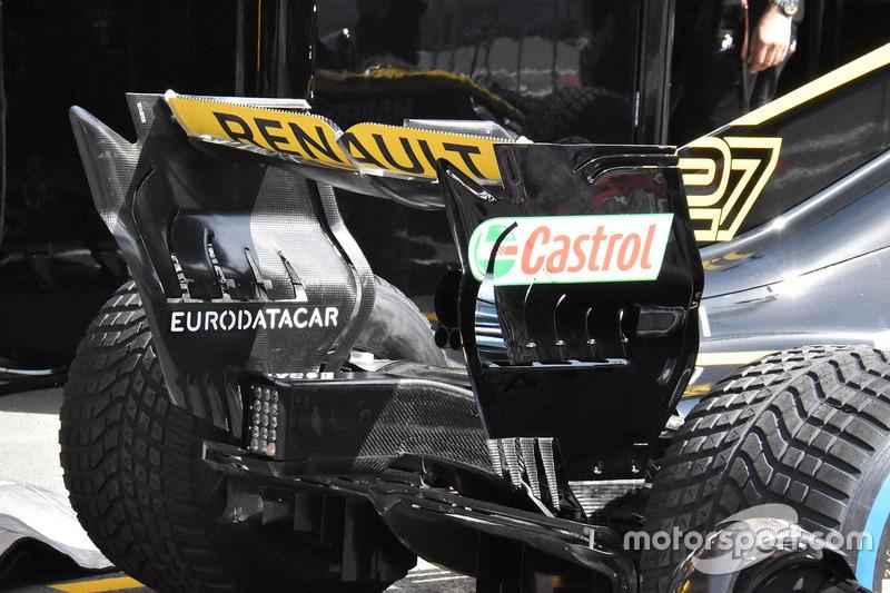Renault Sport F1 Team R.S. 18 arka kanat detay