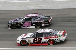 Ryan Blaney, Team Penske Ford, Quin Houff, Precision Performance Motorsports Chevrolet