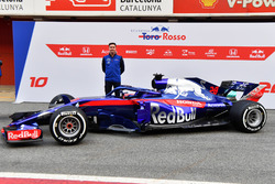 James Key, Scuderia Toro Rosso Technical Director and the new Scuderia Toro Rosso STR13