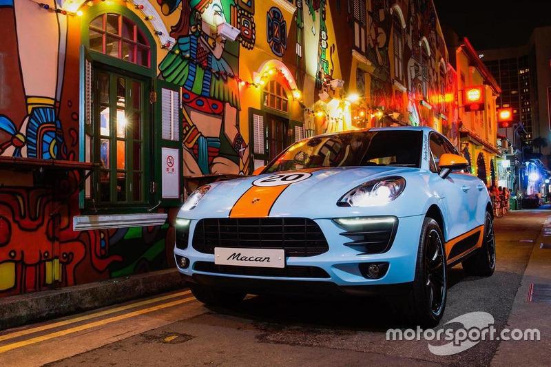 """Porsche Macan """"Gulf Racing"""""""