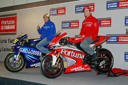 Carlos Checa, Valentino Rossi, Yamaha Factory Racing