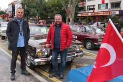 İstanbul Klasik Otomobilciler Derneği 29 Ekim konvoyu