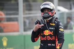 Max Verstappen, Red Bull Racing walks away following his crash
