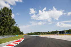A view of the track