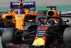 Даніель Ріккардо, Red Bull Racing RB14, Фернандо Алонсо, McLaren MCL33