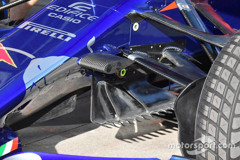 Scuderia Toro Rosso STR13 karoser detay
