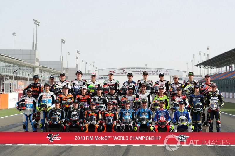 2018 Moto2 riders