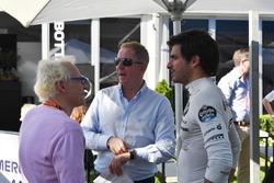 Jacques Villeneuve, Sky Italia, Martin Brundle, Sky TV y Carlos Sainz Jr., Renault Sport F1 Team