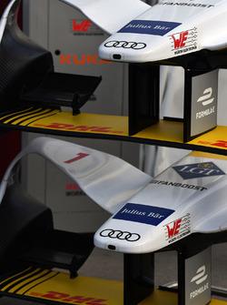 Lucas di Grassi, Audi Sport ABT Schaeffler, nose cones