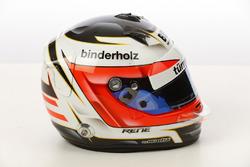 Helm von Rene Binder, Juncos Racing Chevrolet