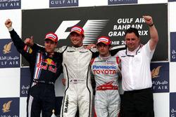 Podium: 1. Jenson Button, Brawn; 2. Sebastian Vettel, Red Bull; 3. Jarno Trulli, Toyota