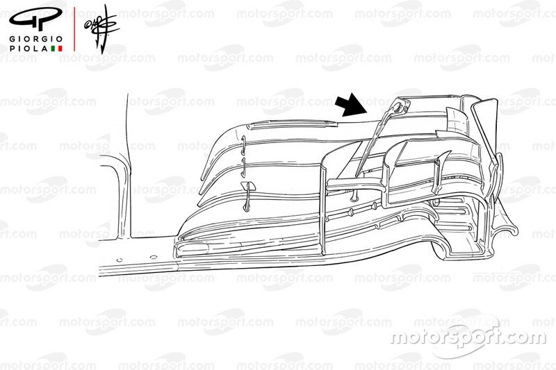 Red Bull RB14 front wing, Canadian GP