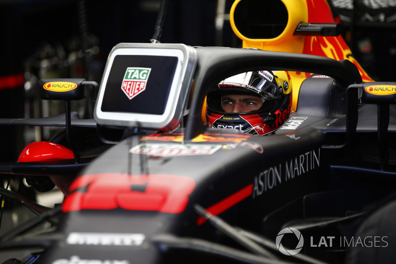 Max Verstappen larga em quarto