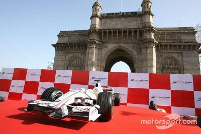 Presentazione Force India VJM01, Mumbai, India