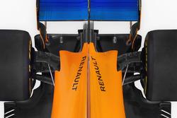 McLaren MCL33, задня частина