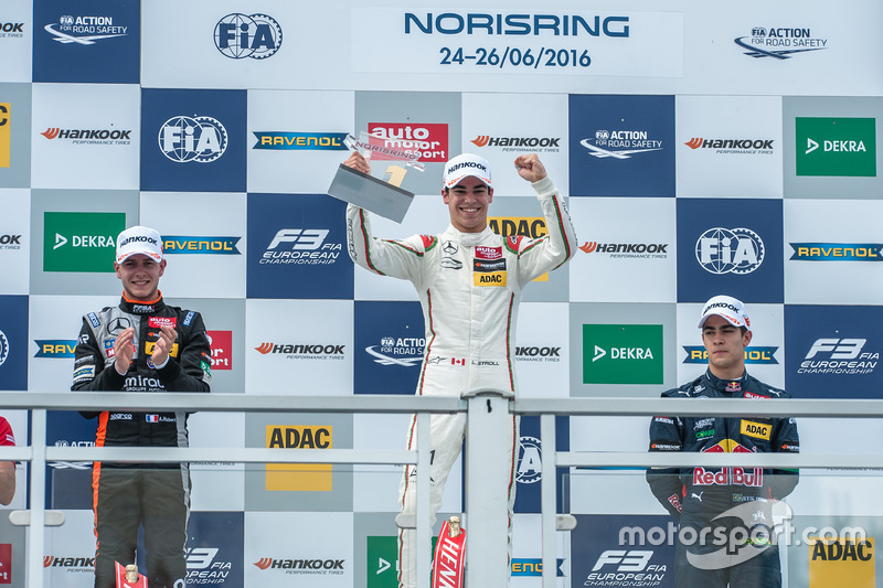 Podyum: Lance Stroll, Prema Powerteam Dallara F312 - Mercedes-Benz