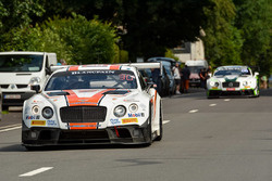 #30 Team Parker Racing, Bentley Continental GT3: CChris Harris, Derek Pierce, Carl Rosenblad, David Perel