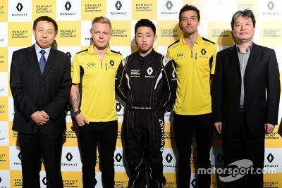 Yue Yang Sun, annuncio Renault Sport Academy