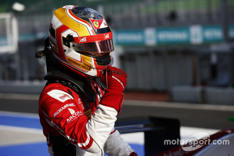 Polesitter Charles Leclerc, ART Grand Prix
