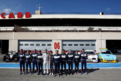 Alex Brundle, Brian Vickers, David Coulthard, Lando Norris, Zak Brown, Daniel Ricciardo, Mika Häkkinen