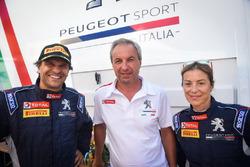 Fabrizio Fabbri con Paolo Andreucci e Anna Andreussi