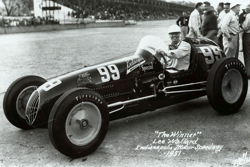 1951 - Lee Wallard, Kurtis Kraft/Offy