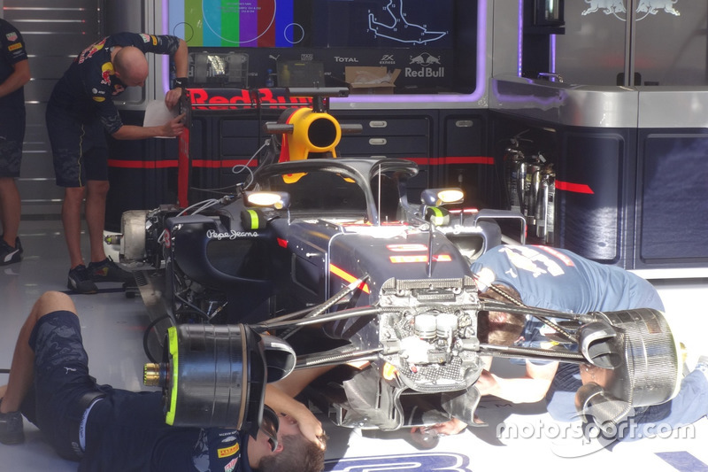 Halo, Daniel Ricciardo, Red Bull Racing RB12