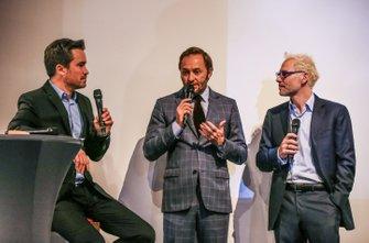 Patrick Lemarié, cofondateur de Feed Racing, Jacques Villeneuve, cofondateur de Feed Racing