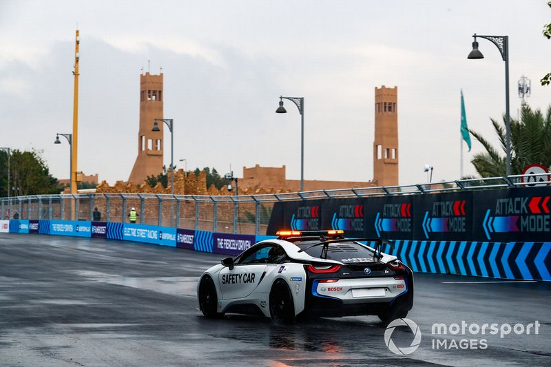 Qualcomm BMW i8 Safety car
