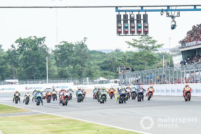 Старт гонки, Марк Маркес, Repsol Honda Team