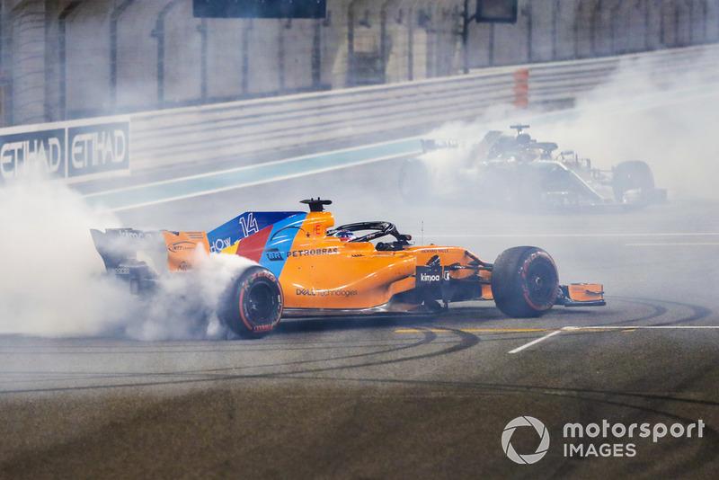 La F1 despidió a Fernando Alonso con todos los honores. No ha descartado volver en 2020, pero de momento deja atrás 17 temporadas exitosas.