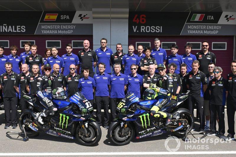 Валентино Россі, Маверік Віньялес та команда Yamaha Factory Racing