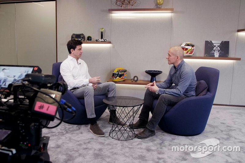 Inside the Mercedes-AMG Petronas Motorsport HQ, with Toto Wolff and Stuart Codling