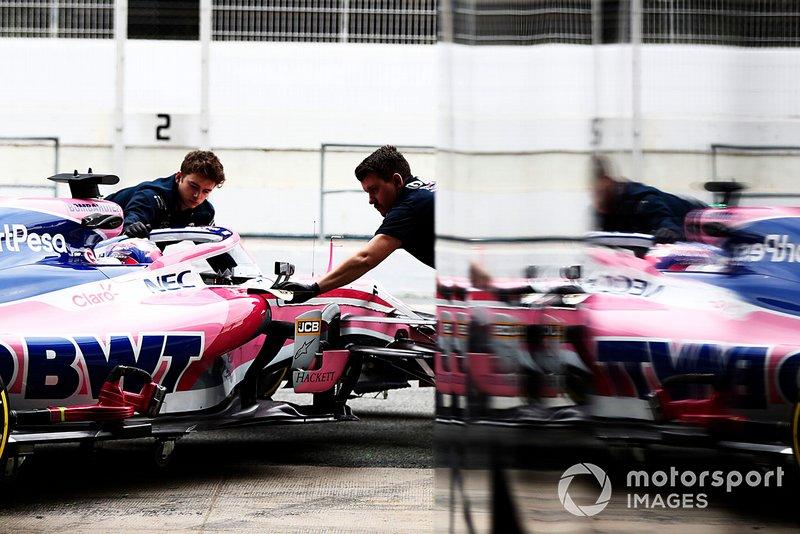 Sergio Pérez, Racing Point F1 Team RP19 reflejo