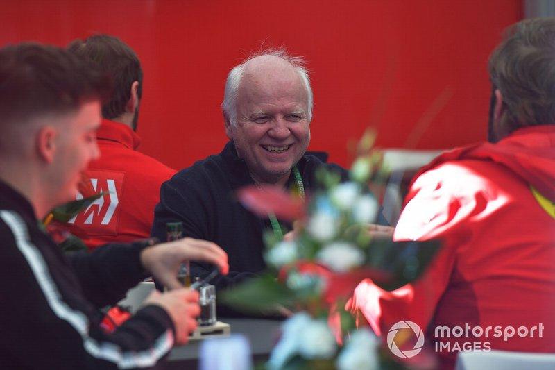 Norbert Vettel, père de Sebastian Vettel, Ferrari