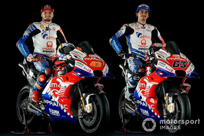 Джек Миллер и Франческо Баньяя, Alma Pramac Racing