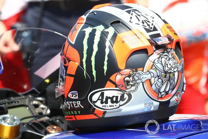 Helm von Maverick Viñales, Yamaha Factory Racing
