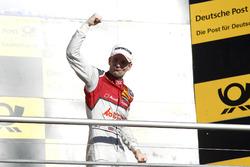 Podium: Sieger Jamie Green, Audi Sport Team Rosberg, Audi RS 5 DTM