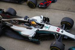 Lewis Hamilton, Mercedes AMG F1 W08, race winner
