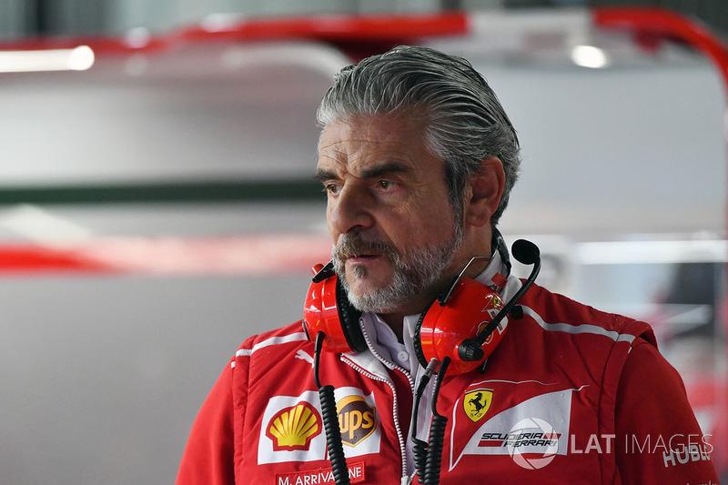 Maurizio Arrivabene, jefe de equipo de Ferrari