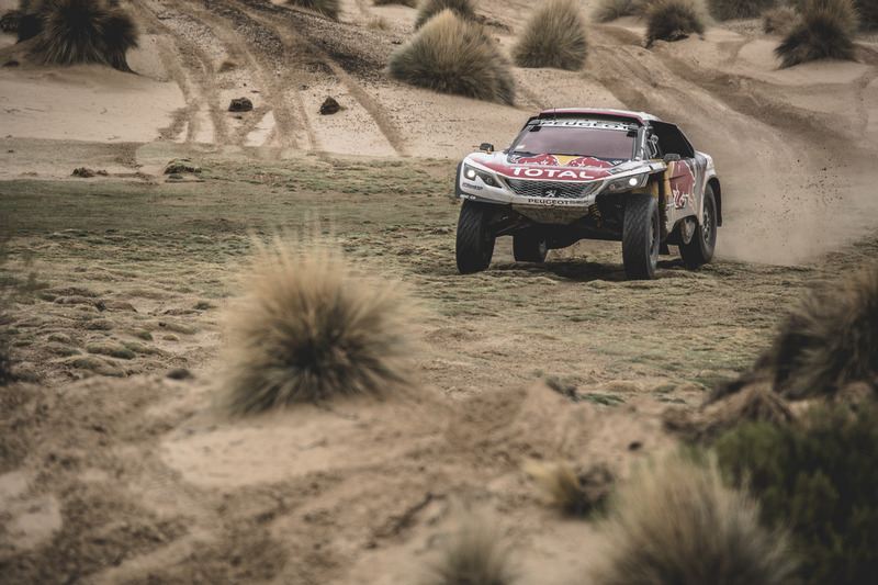 #307 Team Peugeot Sport, Peugeot 3008 DKR: Cyril Despres, David Castera