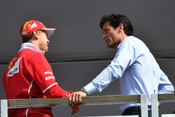Sebastian Vettel, Ferrari en Mark Webber