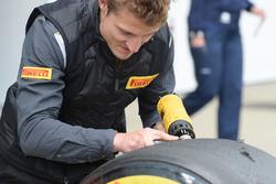 Pirelli mühendisi