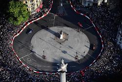 Una vista aérea de F1 Live London