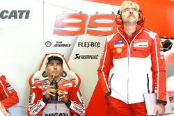 Jorge Lorenzo, Gigi Dall'Igna, Ducati Team