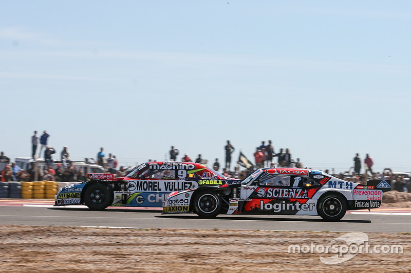 Juan Martin Trucco, JMT Motorsport Dodge, Guillermo Ortelli, JP Carrera Chevrolet