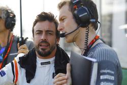 Фернано Алонсо, McLaren, гоночний інженер McLaren, Марк Темпл
