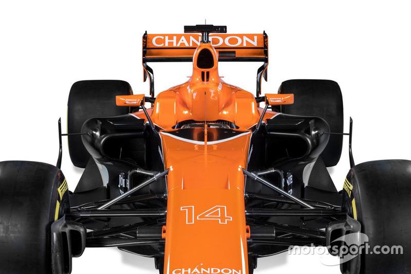McLaren MCL32 detay