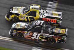 Myatt Snider, Kyle Busch Motorsports Toyota and Cody Coughlin, ThorSport Racing Toyota